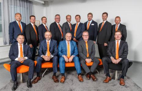 Extended management team