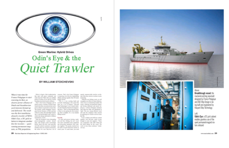 Odin's Eye and the Quiet Trawler