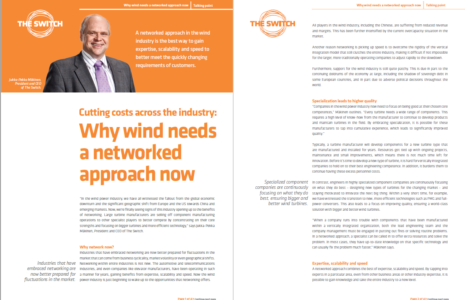 Why winds need a networked approach - Talking Point
