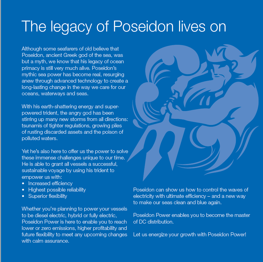 Poseidon power brochure - The Switch